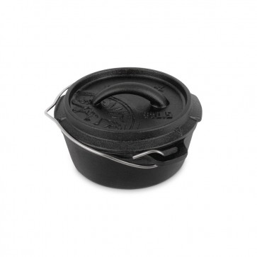 Dutch Oven ft0.5-t with a plane bottom surface
