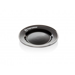 Petromax Enamel Plates black (2 pieces in Set)
