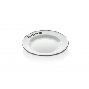 Petromax Enamel Plates white (2 pieces in Set)
